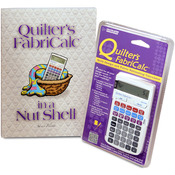 Quilter's FabriCalc Plus Companion Workbook Bundle-