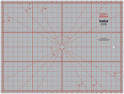 "18""X24"" - TrueCut Double-Sided Rotary Cutting Mat"