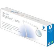 White - Ultra Slim Magnifying Lamp