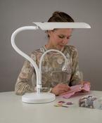 White - Swan Tabletop Lamp