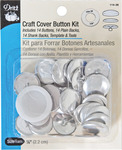 Size 36 14/Pkg - Craft Cover Button Kits