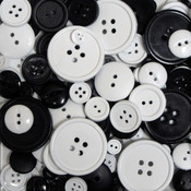 Tuxedo 3.5oz - Favorite Findings Big Bag Of Buttons