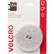 "White - VELCRO(R) Brand STICKY BACK Tape 3/4""X5'"