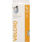 "White - VELCRO(R) Brand Home Decor Sew-On & Sticky Back Tape 1""X6'"