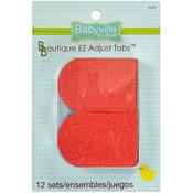 Babyville Boutique Die - Cut EZ Tabs 6/Pkg - Black, Red, Brown, Green, Blue, Dk.