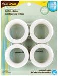 """White - Curtain Grommets 1-9/16"""" Inner Diameter Plastic 8/Pkg"""