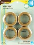 """Brass - Curtain Grommets 1-9/16"""" Inner Diameter Plastic 8/Pkg"""