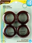 """Bronze - Curtain Grommets 1-9/16"""" Inner Diameter Plastic 8/Pkg"""