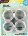 """Champagne - Curtain Grommets 1-9/16"""" Inner Diameter Plastic 8/Pkg"""