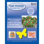 """20""""X36"""" - Heat Moldable Stabilizer Double-Sided Fusible"""
