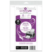 "8.5""X11"" 10/Pkg - Heat'n Bond EZ-Print Lite Iron-On Adhesive"