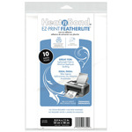 "8.5""X11"" 10/Pkg - Heat'n Bond EZ-Print Featherlite Iron-On Adhesive"