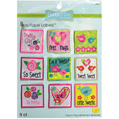 Girl - Babyville Boutique Labels 9/Pkg