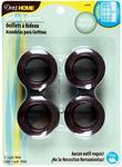 """Bronze - Curtain Grommets 1"""" Inner Diameter Plastic 8/Pkg"""