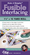 "1.5""X15yd - Make It Simpler Fusible Interfacing"