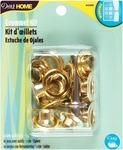 """Brass - Grommet Kit 7/16"""" W/Stud Setter 10/Pkg"""
