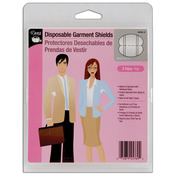 White - Disposable Garment Shields 3 Pairs