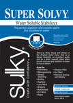 """19.5""""X36"""" - Super Solvy Water-Soluble Stabilizer"""