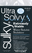"19.5""X36"" - Ultra Solvy Water-Soluble Stabilizer"
