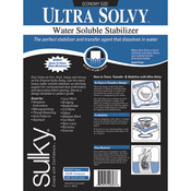"19.5""X3yd - Ultra Solvy Water-Soluble Stabilizer"
