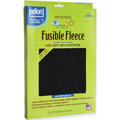 "Black 22""X36"" - Fusible Fleece"