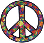 Flower Peace Sign - C&D Visionary Patch