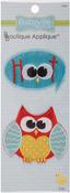 Owl & Hoot - Babyville Boutique Appliques 2/Pkg