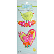 Little Birds - Babyville Boutique Appliques 2/Pkg