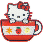 Tea Cup - Hello Kitty Patch