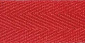 """Red - 100% Cotton Twill Tape 1""""X55yd"""