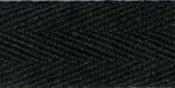 """Black - 100% Cotton Twill Tape 1""""X55yd"""