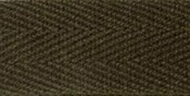 """Dark Brown - 100% Cotton Twill Tape 1""""X55yd"""