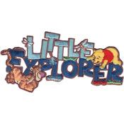 Little Explorer - Disney Winnie The Pooh Iron-On Applique