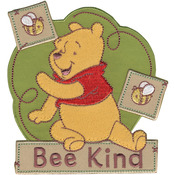 Bee Kind - Disney Winnie The Pooh Iron-On Applique