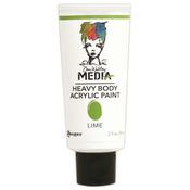 Lime - Dina Wakley Media Heavy Body 2oz Acrylic Paints