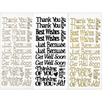 Everyday Greetings - Dazzles Stickers 3/Pkg