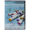 Copic Sketch Markers DVD COPIC MARKERS-Sketch DVD: Techniques & Projects with Copic Sketch Markers.  Get the most out of your Sketch Markers with the help of this fabulous DVD.  Learn how to or just hone your skills at Manga Coloring, Scrapbooking with Copic, Greeting Cards and Using your Copic Markers with Rubber Stamps.  And learn the extreme advantages of using Copic: the Copic Sketch and Copic Ciao use the same ink so matching up colors is a breeze, ink dries acid free, inks are alcohol based so they work on most surfaces including coated and non-porous, Copic comes in hundreds of colors.  Run time of DVD is approximately 21 minutes.