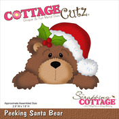 Santa Bear - CottageCutz Die