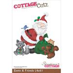 Santa & Friends - CottageCutz Die