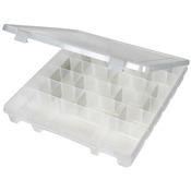 "ArtBin Tarnish Inhibitor Super Satchel Slim 8-20 Compartment-15""X14""X2"" Transluc"