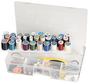 "16.5""X9.75""X3.25"" Translucent - ArtBin Sew-Lutions Box"