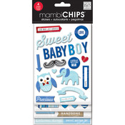 Sweet Baby Boy - Chipboard Value Pack