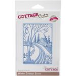 Winter Cottage Scene Elites Die - CottageCutz