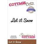 Let It Snow - CottageCutz Expressions Die