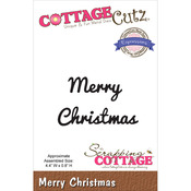 Merry Christmas - CottageCutz Expressions Die