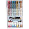 Gel Xtreme Metallic Pens .7mm 7/Pkg - Blue, Green, Gold, Pink, Silver, Purple