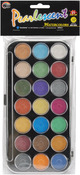 Assorted Colors - Pearlescent Watercolor Set - 21 Colors