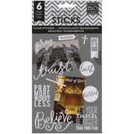 Faith Clear Stickers - Pocket Pages - Me & My Big Ideas