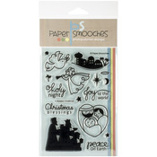A Blessed Christmas - Paper Smooches Clear Stamps