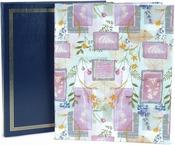 """Assorted Gold Embossed & Designer Prints - Post Bound Album 11""""X14"""""""